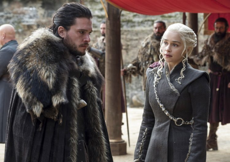 Hold up, we have the first footage of 'Game of Thrones' Season 8