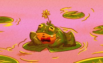 This frog will have a better Valentine's Day than you