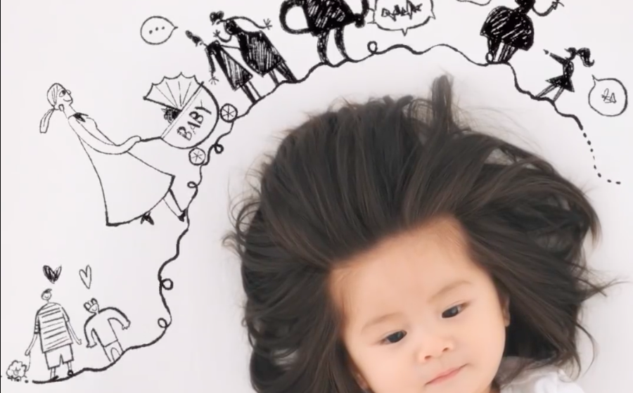 This Baby S Glorious Head Of Hair Earned Her A Pantene Ad Scout