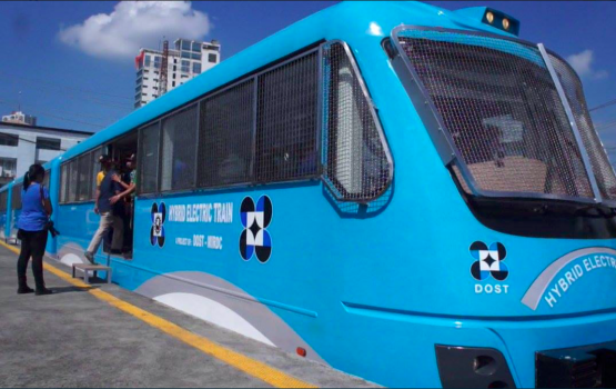These new eco-friendly PNR trains are made in the Philippines