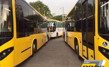 You can now ride a P2P bus from Cainta to Makati