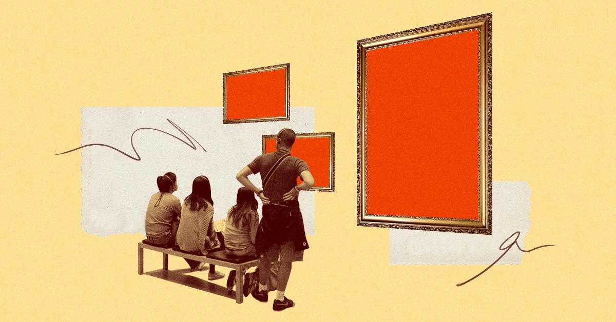 Understanding and appreciating a work of art