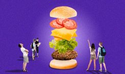 We're willing to travel to Muntinlupa for this burger…with peanut…