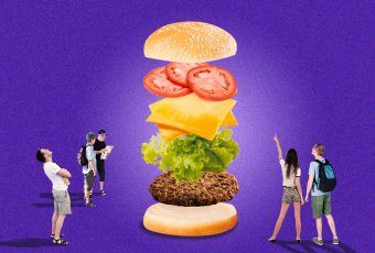 We're willing to travel to Muntinlupa for this burger…with peanut butter
