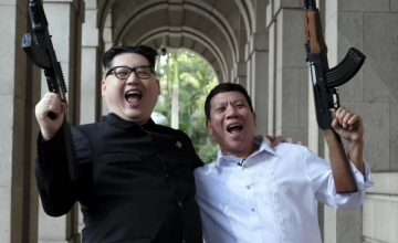 """This is what a """"bromance between dictators"""" looks like"""