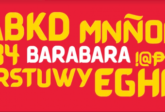 "DOT's new font ""Barabara"" embraces Filipino sign painting"