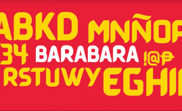 "DOT's new font ""Barabara"" embraces Filipino sign painting"