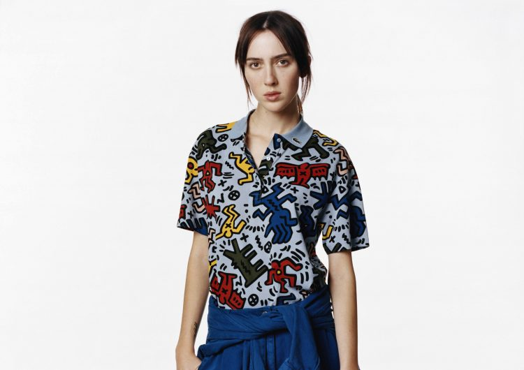 This new Lacoste collection lets you wear Keith Haring's art