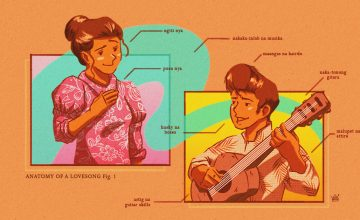The anatomy of a modern Filipino love song