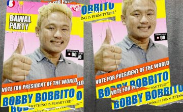 "Is Bawal Clan's ""Bobby Bobbito"" our new president?"