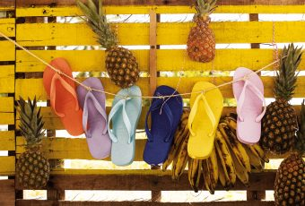 Trust us when we say your flip-flops can take you anywhere