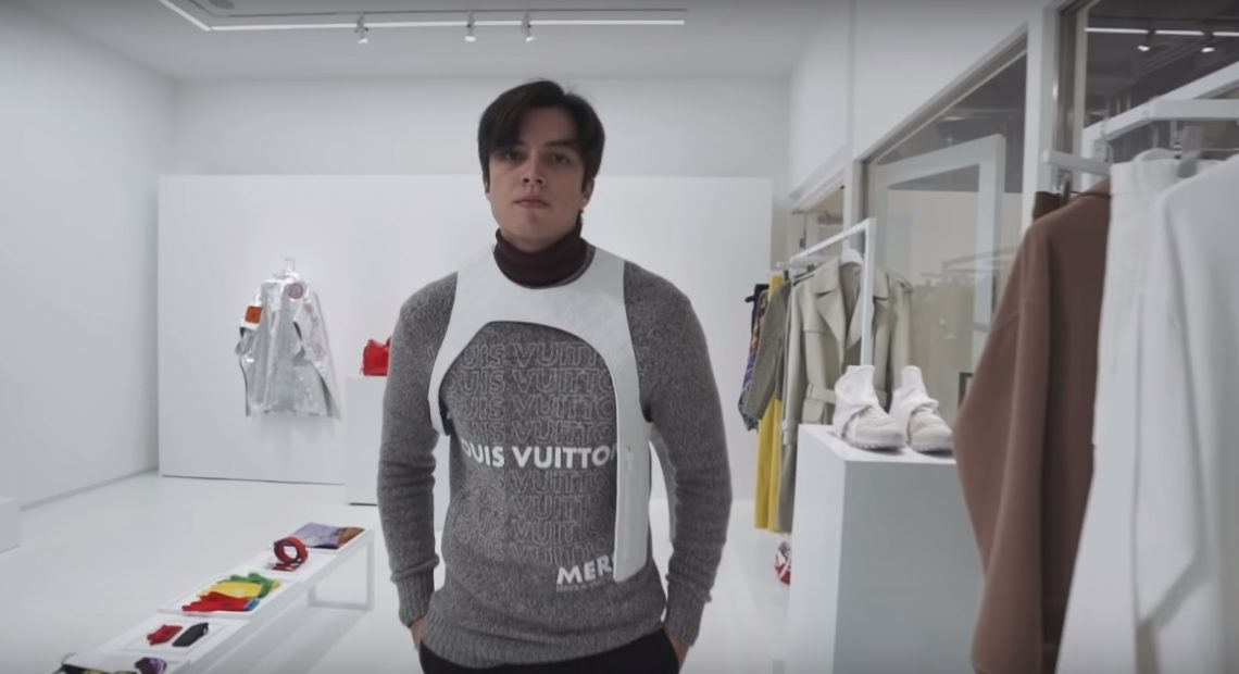 LA Aguinaldo gets first dibs on Virgil Abloh's first collection for Louis Vuitton