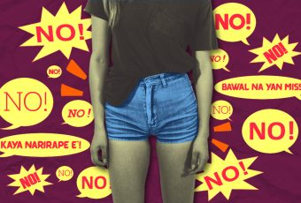 """There's a Caloocan City ordinance banning """"short shorts"""" in public"""