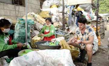 If Darren Criss were a Philippine mayor, waste management programs would be his priority
