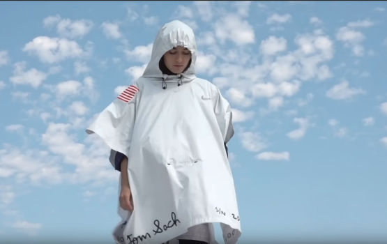 NIKECRAFT's exploding poncho is the future