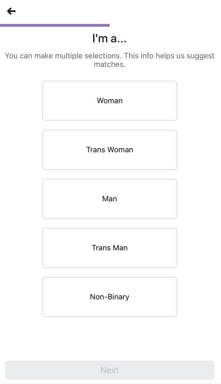 Direkt när du skapat en profil kan du börja söka efter andra singlar och se deras.