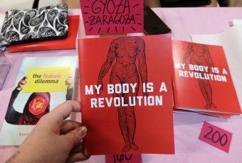 All the body parts we saw at Komura; Book Fair 2019