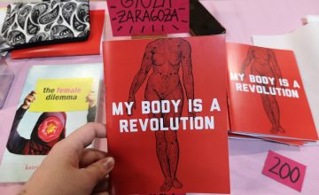 All the body parts we saw at Komura; Book Fair 2019