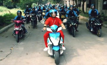 Angkas is finally allowed on the road again, thanks to the Department of Transportation