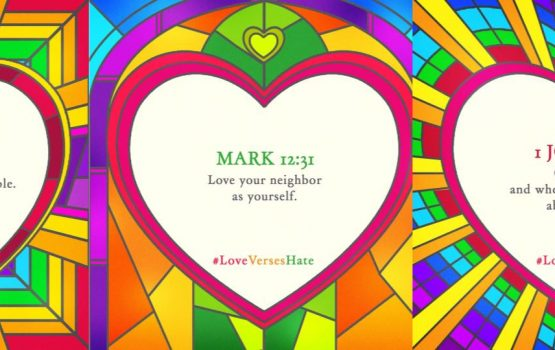 #LoveVersesHate uses the Bible to spread love to the LGBTQ+ community