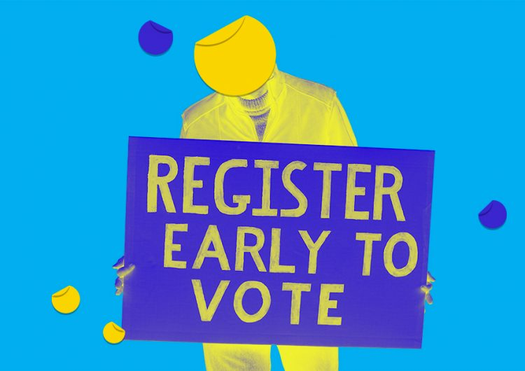 Here's what you need to register to vote for the next elections