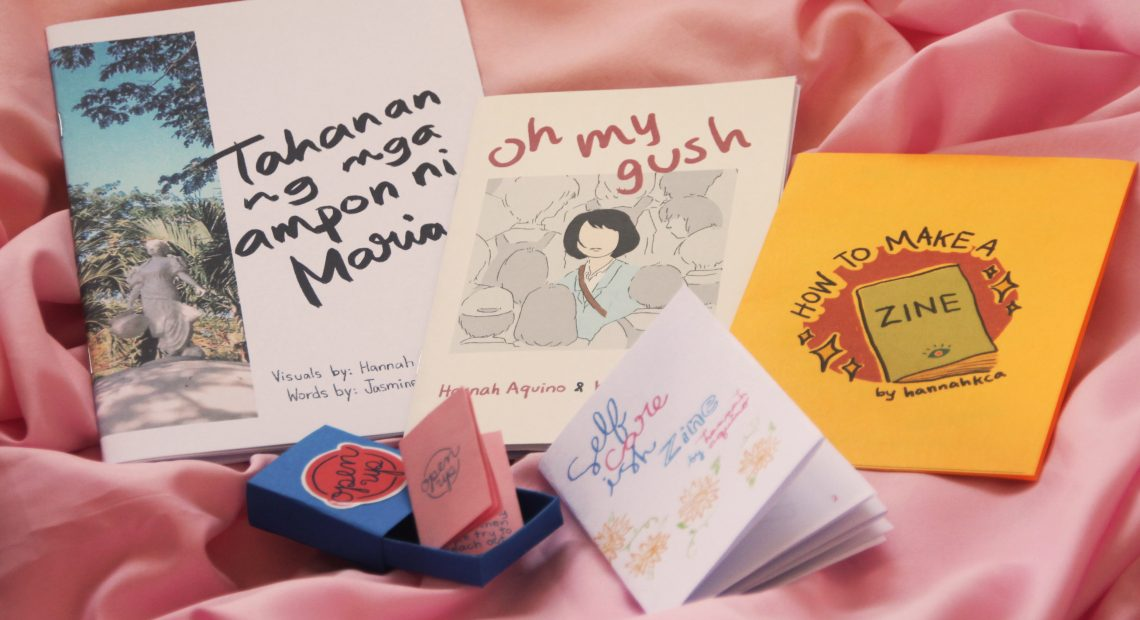 HannahKCA's zines are cute, personal anecdotes on growing up