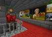 This virtual music club by similarobjects is built on Minecraft