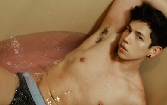 No femmes? No Asians? Not for Calvin Klein's new ad featuring BJ Pascual
