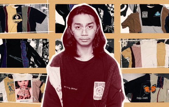 This 19-year-old designer makes hand-stitched pieces from ukay finds