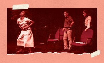 This theater piece about the drug war features zumba and karaoke