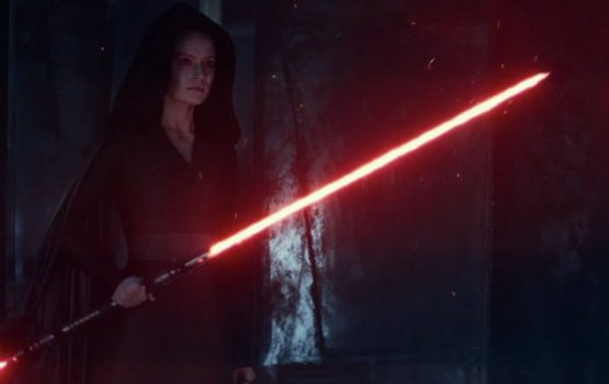 Is Rey heading to the dark side in 'The Rise of Skywalker'?