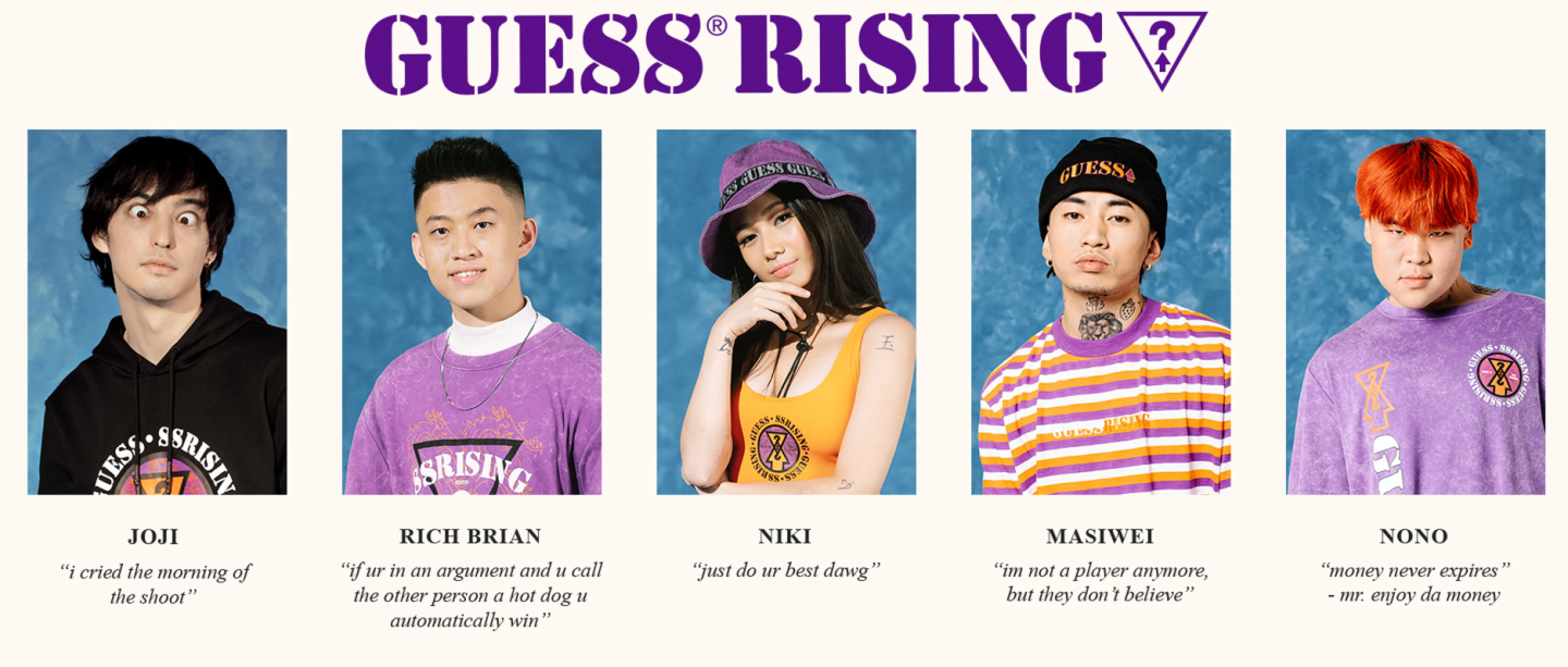 The new 88rising x Guess collection will drop in the