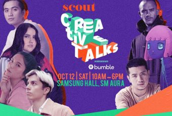 Learn from your fave creatives at Scout Creative Talks 2019