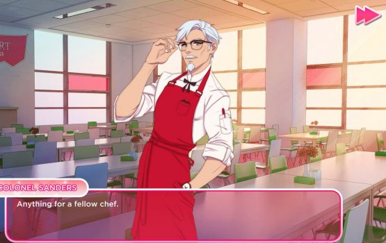 KFC wants you to date young Colonel Sanders in their new dating simulator