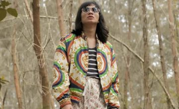 Unique Salonga just did a photoshoot wearing head-to-toe Gucci