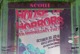 We're holding a Halloween party for SCOUT's 5th anniversary
