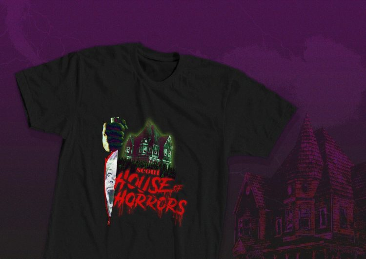 Our Scout House of Horrors merch is up for grabs