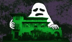 Meet the (kinda) haunted house we're having our birthday party…