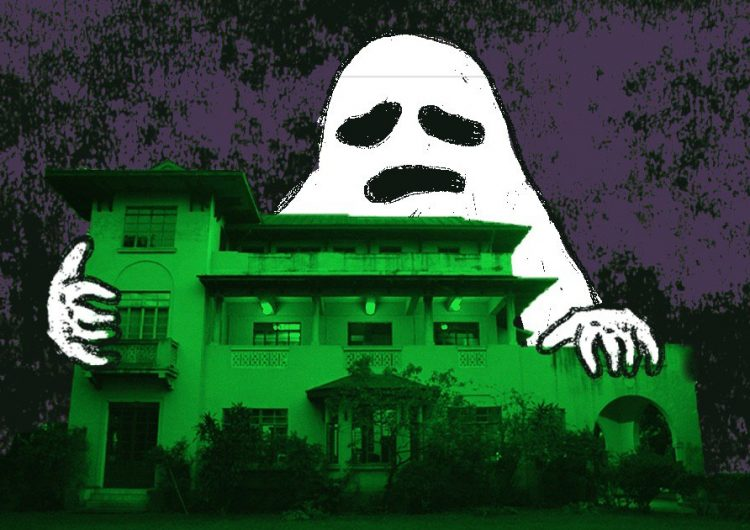 Meet the (kinda) haunted house we're having our birthday party at
