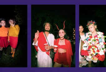 We saw double the Velmas, Jesuses, and May Queen Hargas at House of Horrors
