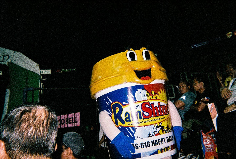 rain or shine bucket pba mascot