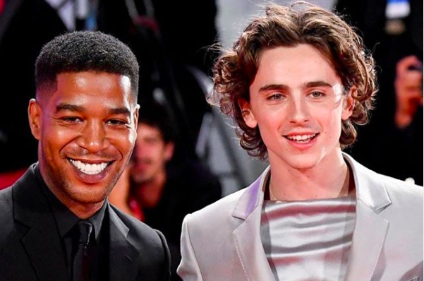 Timothee Chalamet just performed at a Kid Cudi show