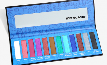 Miss Chanandler Bong is now an eyeshadow thanks to this 'Friends' palette