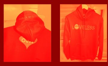 OJK made Fern's latest EP wearable through these hoodies