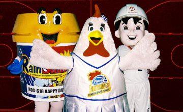 The Foam and the Furries: PBA Mascots