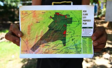 Aeta communities are given seven-days to evacuate Clark City