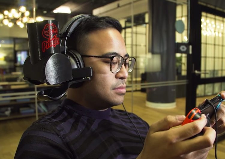 Pringles has made a self-feeding headset for gamers