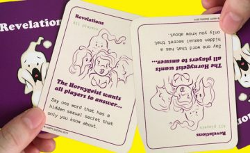 'Happy Ending' is a gender-inclusive, erotic card game for the hoe in you