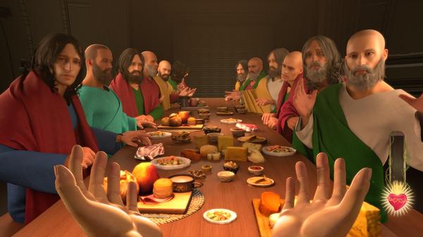 We're getting a Jesus Christ simulator on Steam soon