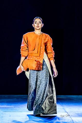 UP Hulma featuring the work of guest designer Antonina Amoncio